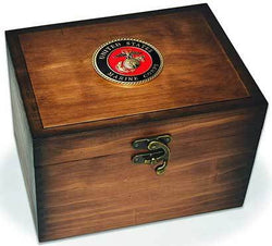 Marines Keepsake Box, Corps