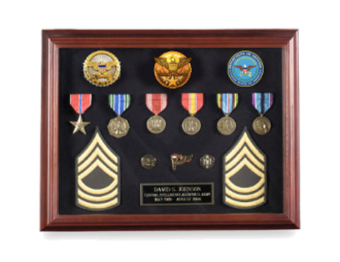 Shadowbox Display Frame 16 x 12, Medal Shadow case.