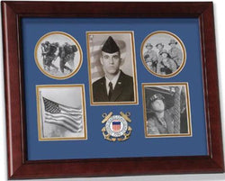 Flag Connections United States Coast Guard Small Collage Frame