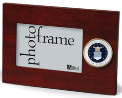 Flag Connections U.S. Air Force Medallion 4-Inch by 6-Inch Desktop Picture Frame