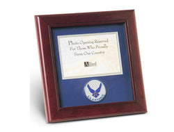 Flag Connections Aim High Air Force Medallion Landscape Picture Frame, 4 by 6-Inch