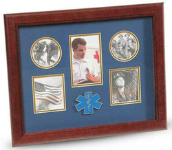 Flag Connections Ems Medallion 5-Picture Collage Frame.