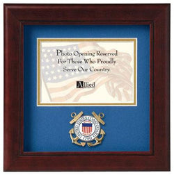 Flag Connections United States Coast Guard Horizontal Picture Frame