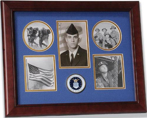 Flag Connections United States Air Force Small Collage Frame