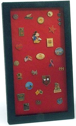 Pin Collector's Display Case - for Disney, Hard Rock, Olympic, Political Campaign & other
