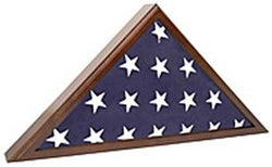 Flag Case for Veteran Funeral handsomely constructed SpartaCraft Cherry Flag Case