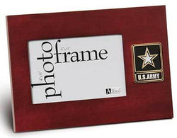 Flags Connections Go Army Medallion Desktop Picture Frame, 4 by 6-Inch