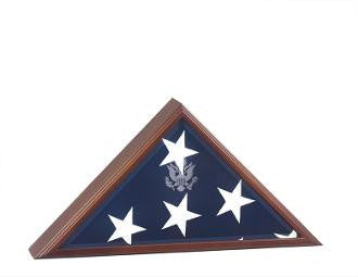 American Flag Case for Flag that was over a Casket