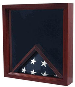 Flag Combination Flag Medal Award Display Case