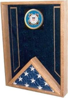 Navy Flag Display Case , flag shadow Box