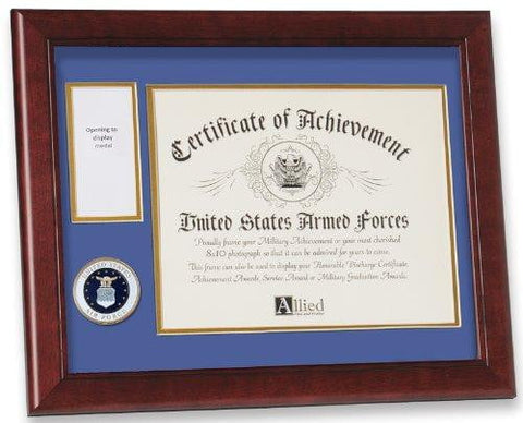 United States Air Force Medal and Award Frame