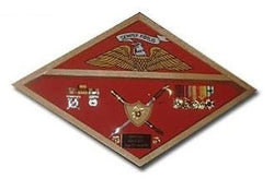 Marine Corps Flag Display Case