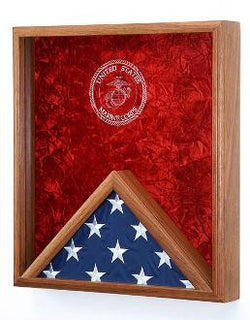 Marine Corps Flag Medal Display Case,USMC Flag Case