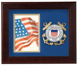 Flag Connections United States Coast Guard Vertical Picture Frame.