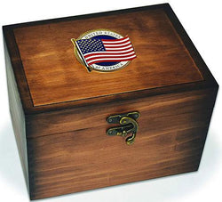 Flag Connections Keepsake Box, US Flag