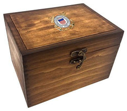 Flag Connections Keepsake Box Coast Guard