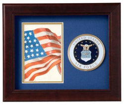 Flag Connections United States Air Force Vertical Picture Frame
