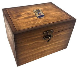 Flag Connections Keepsake Box Police