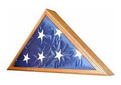 Veteran Flag Display Case - Case Only - OAK
