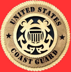 Flag Connections Coast Guard Wall Tributes, Coast Guard Gifts