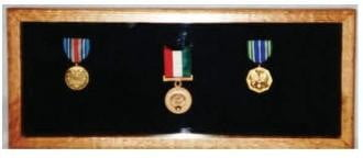 Small Medal Display Case