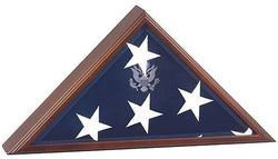 Triangle Flag Case For Large Flag - will fit burial flag  5x9.5