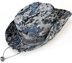 Flag Connections Unisex Military Boonie Hat- Premium Soft Cotton & Polyester Fabric,