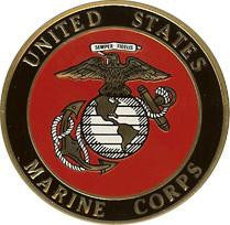 Marine Corps Color Medallion.