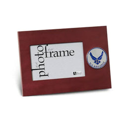Aim High Air Force Medallion 4-Inch by 6-Inch Desktop Picture Frame