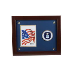 U.S. Air Force Medallion 5-Inch by 7-Inch Picture Frame with Stars