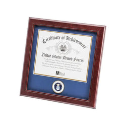 U.S. Air Force Medallion 8-Inch by 10-Inch Certificate Frame