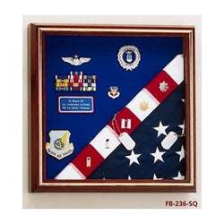 Military Award Medal Flag Display Combination - 3'x5' Flag