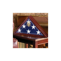 American Burial Flag Box - 3ft x 5ft American Flag or 5ft x 9.5ft Flag, American Burial Flag.