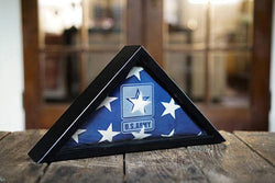 Flag Connections Military Flag Frame, Personalized Military Frames