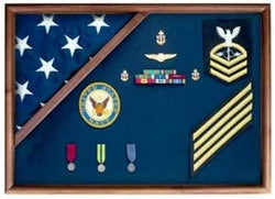 Medal Glass Display Case Shadow Box,FLAG AND MEDAL DISPLAY