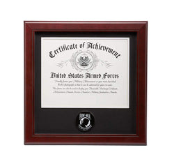 US POW/MIA Medallion 8-Inch by 10-Inch Certificate Frame