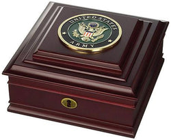 Flag Connections U.S. Army Medallion Desktop Box