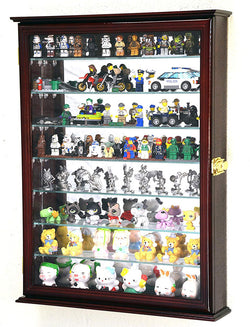 Large Lego Men Minifigures/Star Wars/Disney/Minature Figurines Display Case