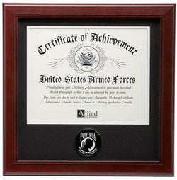 Flag Connections  POW/MIA Medallion 8-Inch by 10-Inch Certificate Frame.