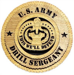 Flag Connections U.S. Army Drill Sergeant Wall Tribute