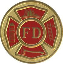 Fire Dept Color Medallion