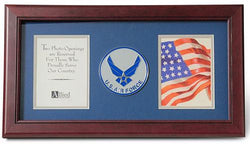 Flag Connections United States Dual Picture Frame
