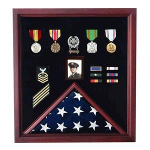 Flag and Photo Display case,Photo and Medal Display case.