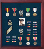 Army Medal Display Case, Army Medal Shadow box.