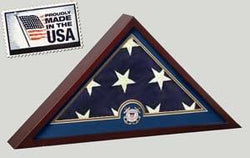 Coast Guard Flag Display Case - No Flag - The Military Gift Store