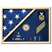 veteran flag display case