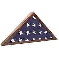 Flag Case for Veteran Funeral.