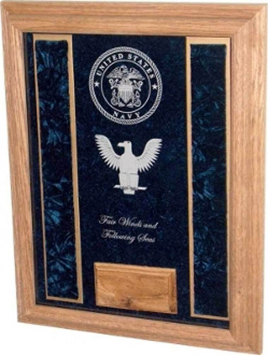 Copy of Deluxe Awards Display Case, Military Deluxe Awards Display Case