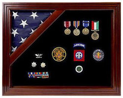 Colonial Classic Shadow Box & Flag Case