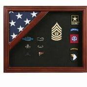 The Patriot Flag Display Case, American flag display Case